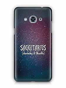 YuBingo Sagittarius (Charming & Likeable) Designer Mobile Case Back Cover for Samsung Galaxy J3 Pro