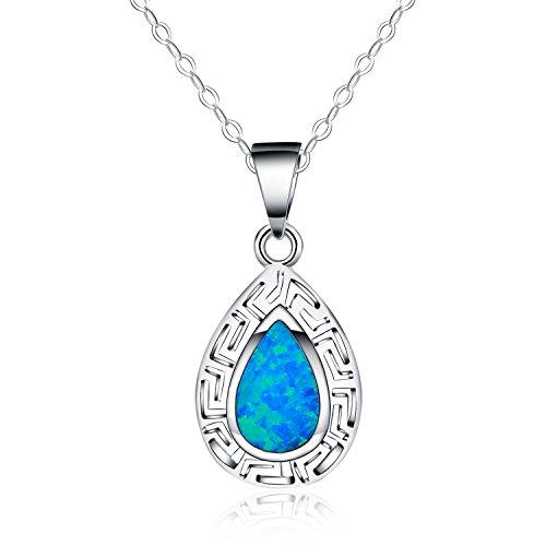 collar-con-colgante-de-mujer-18-forma-de-lluvia-opalo-azul-sintetico-plata-esterlina-925