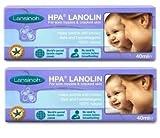 Lansinoh HPA Lanolin for Breastfeeding Mothers, 40 Grams (Pack of 2; 80 Grams Total)