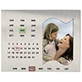 Hama Maastriccht Metal 6x4 Photo Frame and Calendar