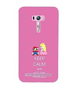 ifasho Designer Phone Back Case Cover Asus Zenfone Selfie ZD551KL ( Orange Colorful Pattern Design )