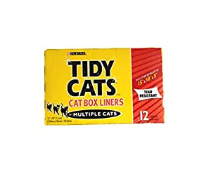 Amazon Com Tidy Cats Cat Box Liners For Multiple Cats