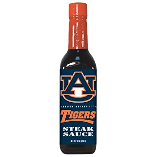 4 Pack AUBURN Tigers Steak Sauce 10 oz