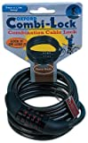 Oxford Combination Cable Lock - Bronze