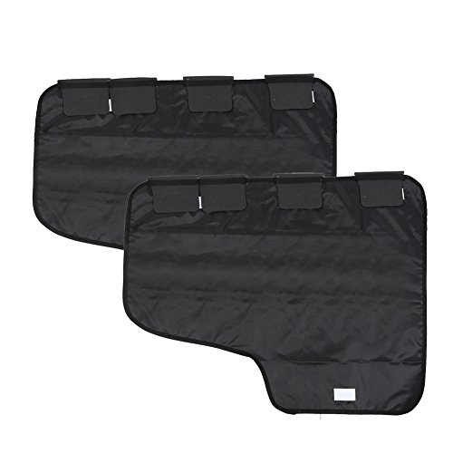Pidsen One Pair Pet Car Door Cover Protects Car From Scratches and Dog Paw Prints (71x 55cm/28