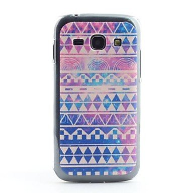 Pantapbuy @@Colorful Stripe Pattern PVC Back Case for Samsung Galaxy Ace 3 S7272 pantapbuy meaning of life pattern pvc back case for samsung galaxy ace 3 s7272