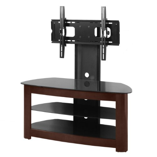 We Furniture 42 Inch Tv Stand With Removable Mount Wood Espresso My Furniture Reviews
