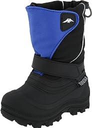 Tundra Quebec Wide Boot (Toddler/Little Kid/Big Kid),Black/Royal,5 M US Toddler