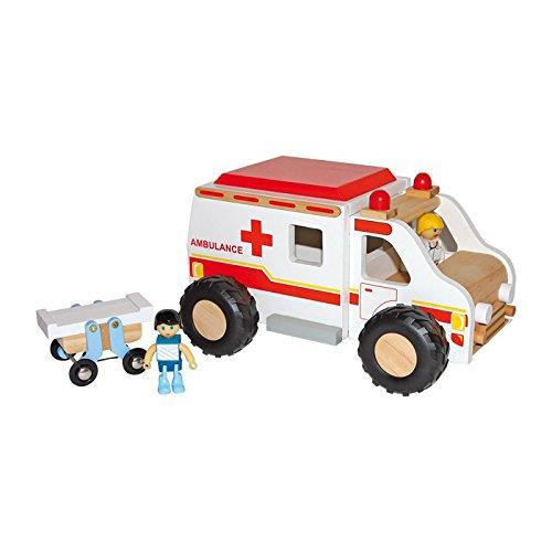 Small Foot Company 8512 - Krankenwagen aus Holz