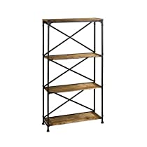 Hot Sale Cyan Design Monacco Etagere in Rustic
