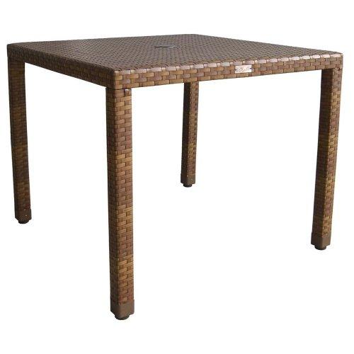 Panama Jack Outdoor St Barths Square Dining Table 36