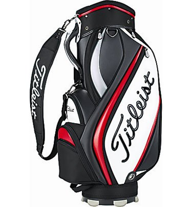 Titleist 2013 Midsize Staff Bag Black-Red (NEW)