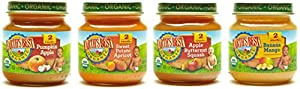Earth's Best Stage 2 Baby Food Jars Fruit Antioxidant Blends Variety Pack, 12 Count by [Producer]