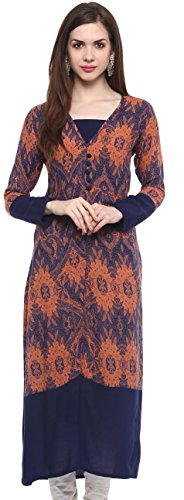 IVES-Rayon-Printed-Blue-Straight-Regular-Fit-Kurti-for-Women