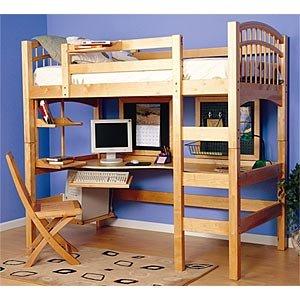 McKenzie Study Loft Bed