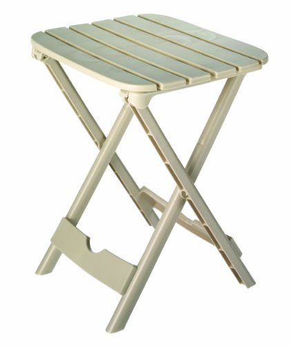Adams Manufacturing 8520-23-3700 Quik-Fold® Tag-Along Side Table, Desert Clay front-720410