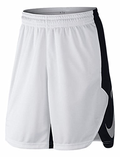 Nike Men's Hyperelite Power Shorts, White (X-Large)