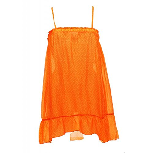 Beachwear Frauen Banana Moon Beach Kleid Silke Tunick Orange Farbe Orange Größe M