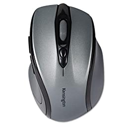 KMW72423 - Kensington Pro Fit Mid-Size Wireless Mouse Graphite Gray