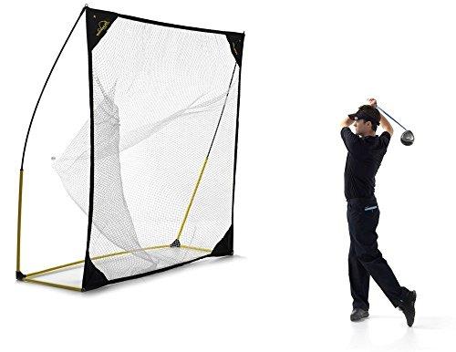 QuickPlay Quick-Hit - Rete trasportabile adatta a diversi sport 2.44 x 2.44 m