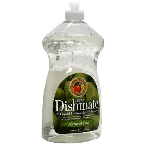 Earth Friendly Products Dishmate Ultra Liquid Dishwashing Cleaner Natural Pear 25 Ounces Pack of 12B0000A8F2V