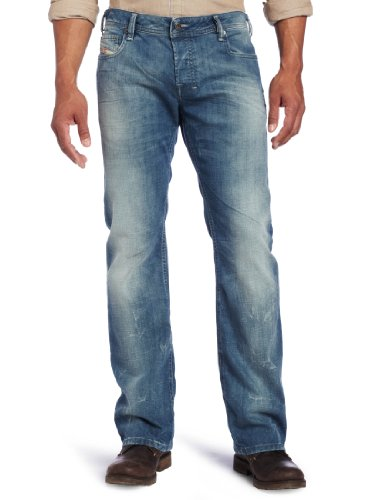 Diesel Men's Zatiny 888D Slim Micro Bootcut Fit Jean, Denim, 29W x 34L