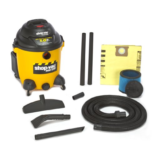 Shop-Vac 9625110 5.0-Peak Horsepower Right Stuff Wet/Dry Vacuum, 12-Gallon front-838922