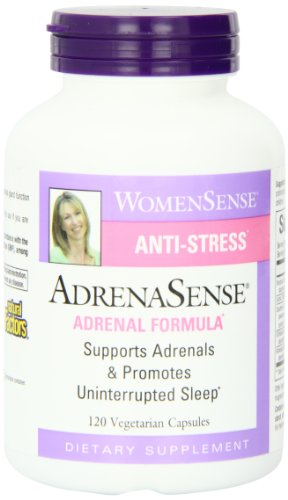Natural Factors Adrenasense Veg-Capsules, 120-Count