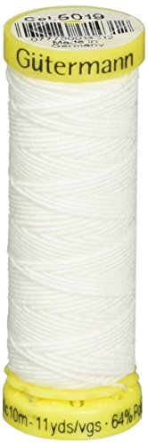Elastic Thread 11 Yards-White (Sewing Machine Thread Guterman compare prices)