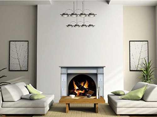 N1240 Multicolor Fireplace vinyl sticker, wallpaper decoration,Wall Stickers Graphics Vinyl Decal (Fireplace Border compare prices)