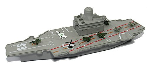 "18"" long Aircraft Carrier with Sound/Lights and 8 Mini Aircrafts - 41xVAG4tgOL - 18″ long Aircraft Carrier with Sound/Lights and 8 Mini Aircrafts"