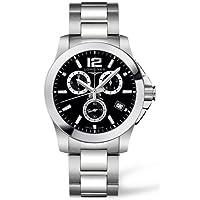 LONGINES 腕時計 R. CONQ CRO AC/AC E/NE L36604566 メンズ [並行輸入品]