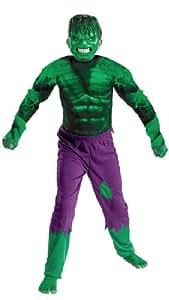 Disguise Kids Incredible Hulk Movie Costume Child Medium