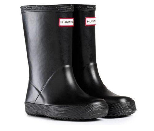 Hunter Black Girls Boys Kids First Wellies Size UK 5 Euro 22 Childrens Hunter Wellington Boots