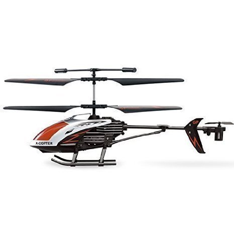 AMOSTING RC Helicopter Crash Resistant 3.5 Channels with Gyro