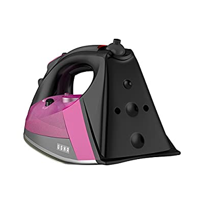 Usha Techne Pro 1500 Ceramic 2200W Stream Iron-Pink