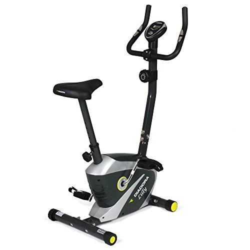 Diadora Fitness Lilly Cyclette magnetica, Grigio/Nero