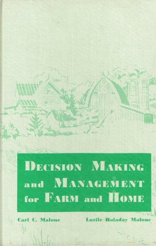 Image for Decision making and management for farm and home