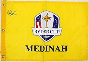 Buy Fred Couples Signed Autographed 2012 Ryder Cup Golf Flag #t09264 - PSA DNA Certified - Autographed... by Sports Memorabilia