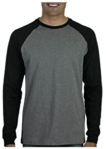 Buy Canvas Long Sleeve Raglan Baseball Tee Shirt by Canvas