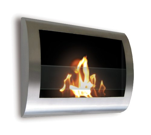 Why Choose The Anywhere Fireplace - Chelsea Stainless Steel Wall Mount Fireplace