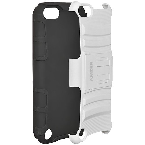 Amzer Dual Layer Hybrid Kickstand Case for Apple iPod touch 5G