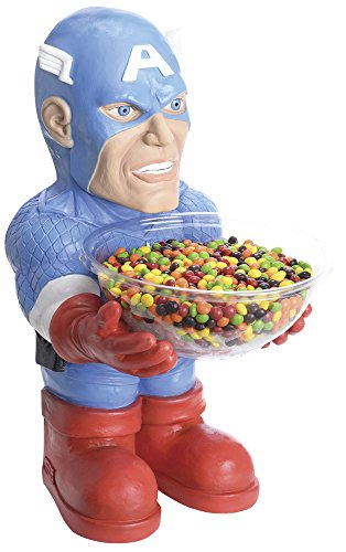 Rubies Costume Marvel Universe Classic Collection Captain America Candy Bowl Holder