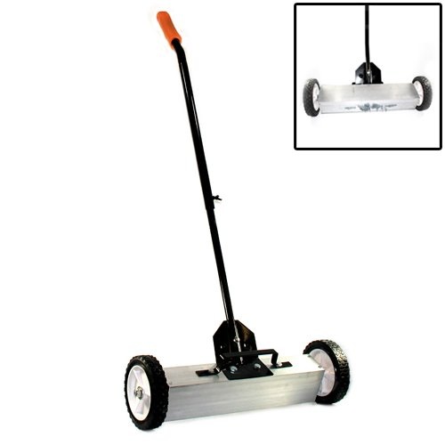 Magnetic Sweeper With Switchable Release - Sweeps Nails  &  Screws Quickly (22
