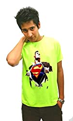 LetsFlaunt Super Human T-shirt Extra Green M 1 2x Dry-Fit-X-Large Nw