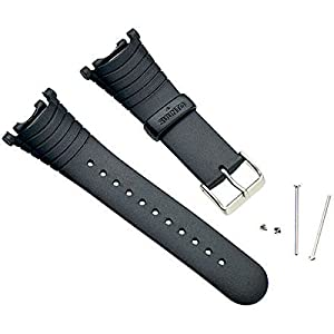 Suunto Vector Replacement Strap Kit - Elastomer Black, One Size