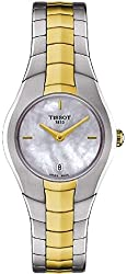 Tissot T0960092211100 T-Round Ladies Watch - Mother of Pearl Dial Stainless Steel Case Quartz Movement