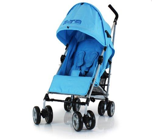 BABY TRAVEL ZETA VOOOM - OCEAN BLUE STROLLER BUGGY PUSHCHAIR FROM BIRTH