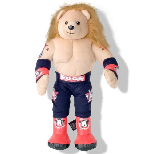 WWE Edge Rated R Superstar Plush 16 Inch Teddy Bear (Wwe Superstar Edge compare prices)