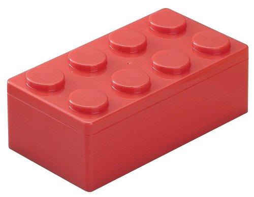 ダイヤブロック ランチボックス L レッド LBXL-070 R